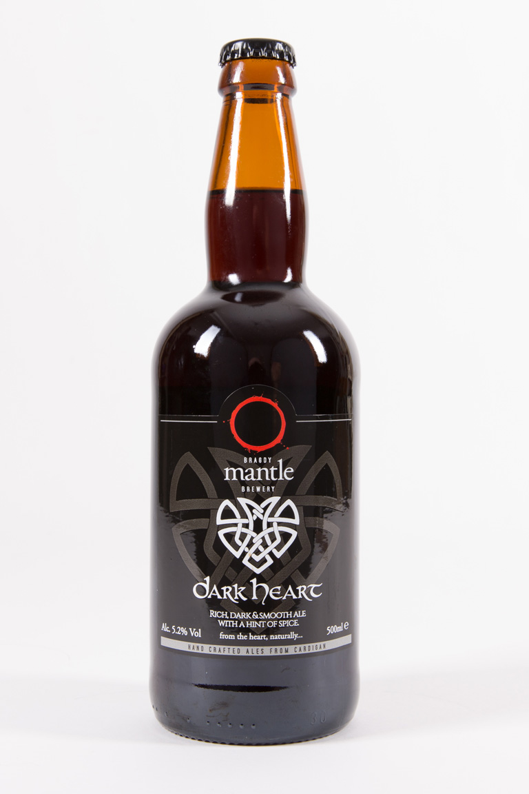 Dark Heart ale by Mantle Brewery