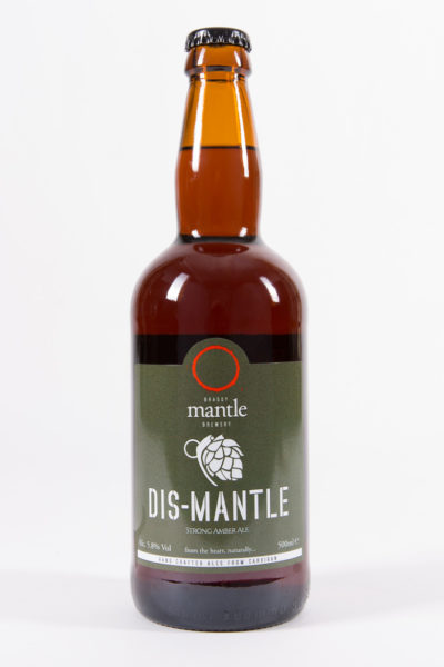 Dis-Mantle ale brewed by Mantle Brewery
