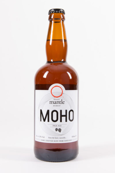 Moho ale by Mantle Brewery