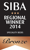 Bronze Award Dark Heart Speciality Beers
